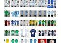 Venta al por mayor - 10 juegos: 145 €, Real Madrid, Barcelona, Sevilla, atl madrid, camisetas de fútbol - En Barcelona, Badalona