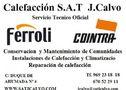 Calefaccion y mantenimiento sat j.calvo