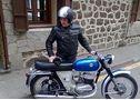 Moto clasica</em> - En Vizcaya, Zierbena