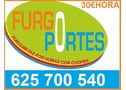 PORTES EN VICALVARO  6-DOS-570-0540 FURGONETAS+CONDUCTOR - En Madrid