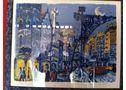 cuadros de Moscardo y Didier Lourenço - En Barcelona, Vilassar de Mar