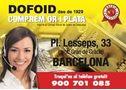 Compro oro y plata, DOFOID-LESSEPS, las mejores valoraciones. - En Barcelona