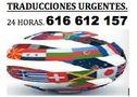 TRADUCCIONES PROFESIONALES, URGENTES - En Madrid