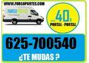 Portes baratos madrid  625:700:540 mudanzas y fletes