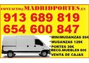PROFESIONALES EN MINIMUDANZAS-PORTES MADRID - En Madrid