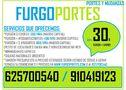Anuncios portes economicos*62:57:00:540* 40 euros - En Madrid