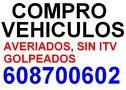 ,,,COMPRO COCHES Y FURGONETAS CON AVERIAS GOLPES  TLF 608700602,,, - En Madrid