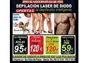 Bajamos los precios laser de diodo piernas enteras + axilas 120€ ingles  bras+ axilas 59€ murcia 968187204