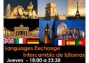 FREE SPANISH, ENGLISH, FRENC, ITALIAN, GERMAN..... EXCHANGE - En Madrid